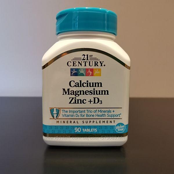 21 Century кальций, магний, цинк  д3