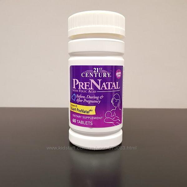 21 Century PreNatal мультивитамины для женщин с фолиевой кислотой 1