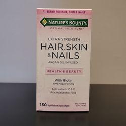 Комплекс для волос, кожи и ногтей повышенная сила с гиалуроновой кислотой