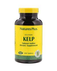 Nature&acutes Plus Йод из бурых водорослей - 300 таблеток / США