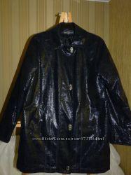 Суперпальтишко - курточка , Турция , ткань под змеиною кожу, с переливом, д