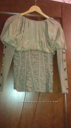 Итальянская стильная блузка Gaetano Navarra. Оригинал.