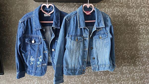 Джинсовые пиджаки на рост от 104 до 134