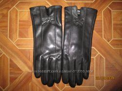 Перчатки Под кожу плюшевые