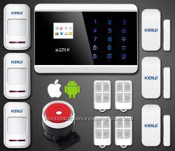 Сигнализации GSM комплектации для помещений разных размеров