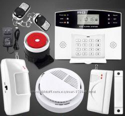 Сигнализации GSM комплектации  Охрана