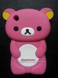 ЧЕХОЛ НА IPHONE 3, 3S - силиконовый мишка 199грн