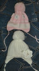 зимние шапки на девочку 1 - 2 года