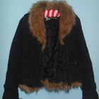 Джинсовая куртка-пиджак Подстежка. Мех