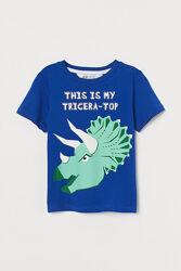 Новые футболки H&M на мальчиков 1,5-10 лет