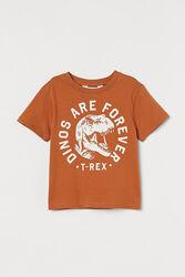 Новые футболки H&M на мальчика 1,5-10 лет