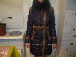 Зимний теплый пуховик, пальто PUJI. Новый. 46 р.