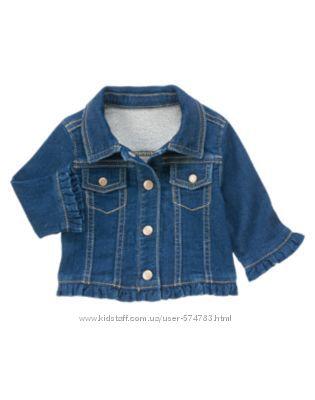Новая джинсовая курточка ветровочка  от GYMBOREE