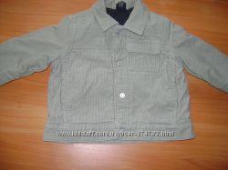 Вельветовая курточка на мальчика 9-12 мес. НЕКСТ