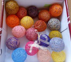 новогодние игрушки, елочные шарики, ручной работы