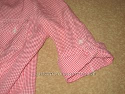 Модна приталена рубашечка в клєточку S стан нової