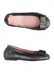 Кожаные туфли балетки Jacadi Испания, р 27