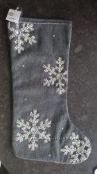 Новогодний носок для подарков, Sage nd Co. США