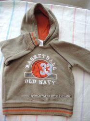 Тёплый флисовый реглан для мальчика Old Navy, 6-12мес.