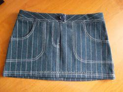 Юбка джинсовая для девочки, новая