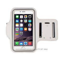 Чехол на предплечье для IPhone 6 4. 7 дюймов черный, белый