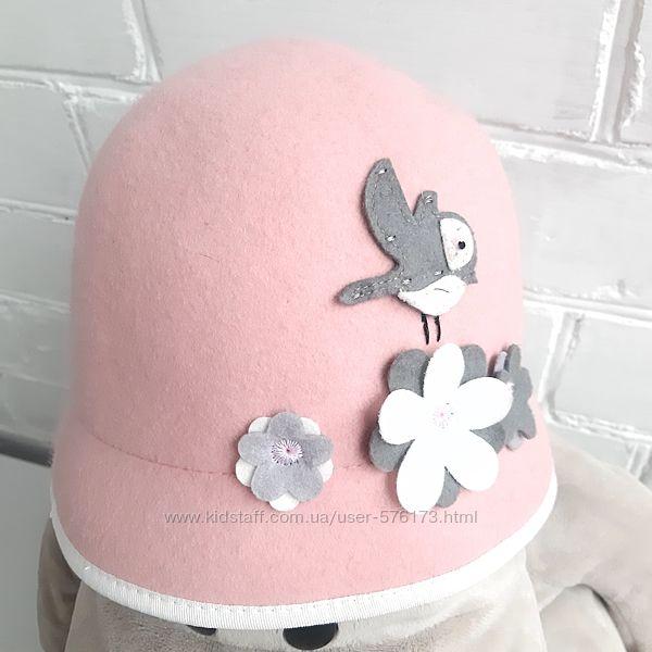 Шапка шапочка котелок H&M 122-128 см 6-8 лет