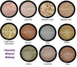 Консилеры, корректоры, минеральная косметика