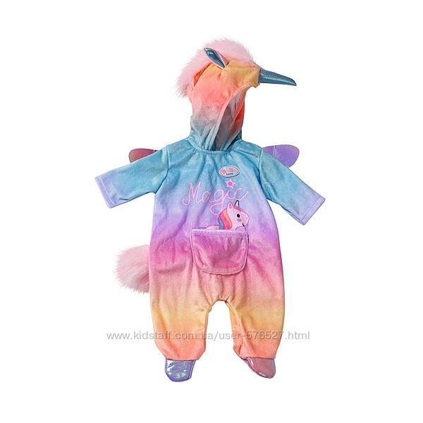 Одежда для куклы BABY born - Радужный единорог беби борн