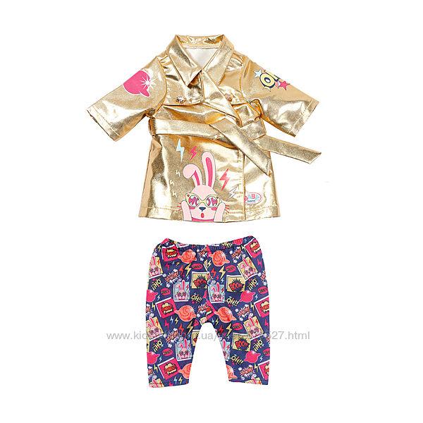 Набор одежды для куклы BABY born - Праздничное пальто беби борн
