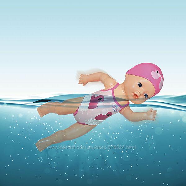 Интерактивная кукла BABY born серии My First - Пловчиха беби борн