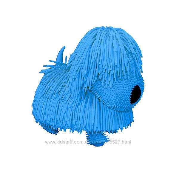 Интерактивная игрушка Jiggly Pup - Озорной щенок голубой