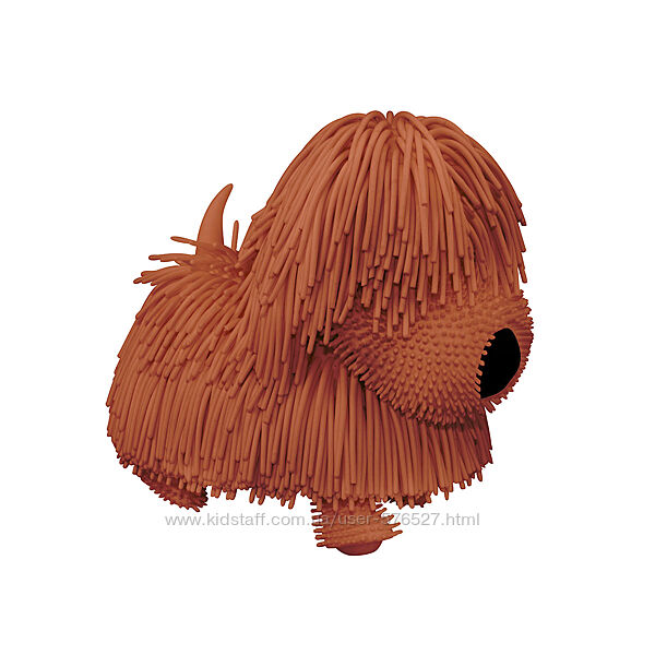 Интерактивная игрушка Jiggly Pup - Озорной щенок коричневый