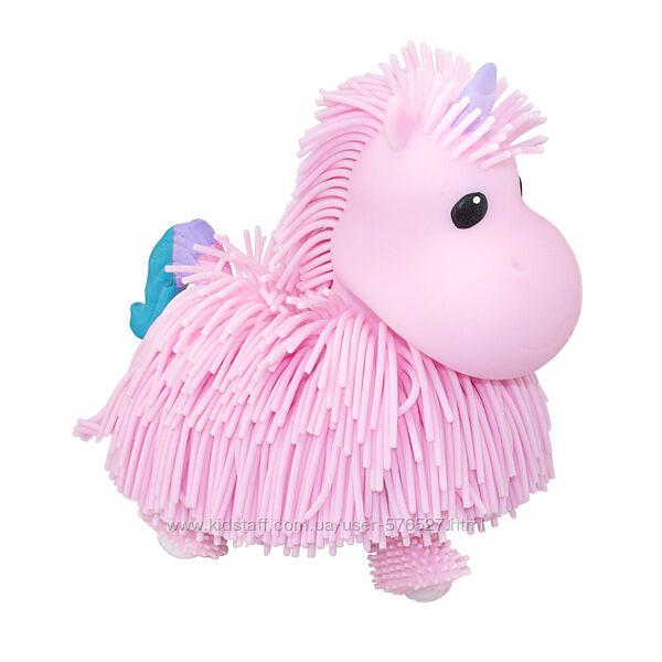 Интерактивная игрушка Jiggly Pup - Волшебный единорог розовый