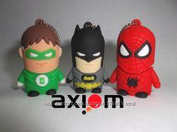 Супергеройские флешки 4Gb