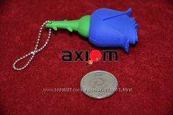 Силиконовая флешка  4Гб Роза   USB Flash Drive