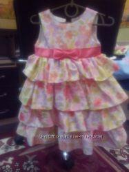 Красивое платьеце пироженце для вашей принцессы 1, 5-2 года
