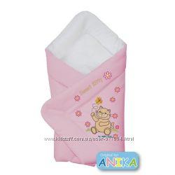 Конверт-одеяло для новорожденных  Котик  ANIKAbaby  Польша