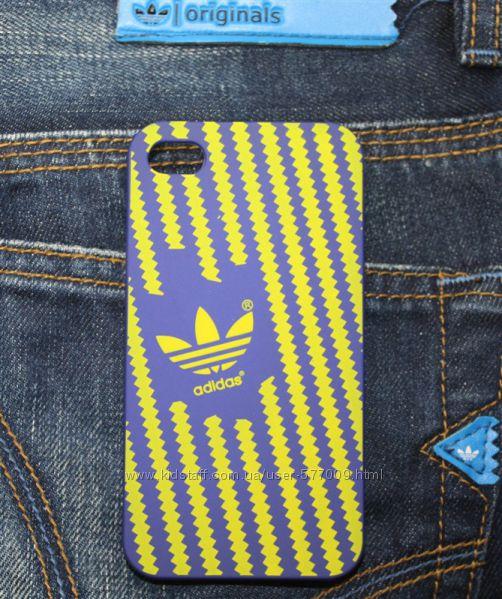 Чехол для iphone 4 4s и 5 5s адидас, чехлы adidas айфон