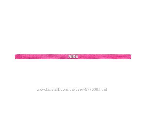 Повязка на голову резинка для волос Nike розовая