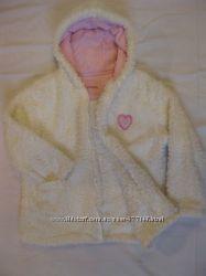 Курточка белая Cherokee на рост 122см, возраст 6-7 лет