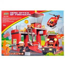Детский конструктор 8188А, 9188A, 9188C Jixin Пожарная служба, Полиция