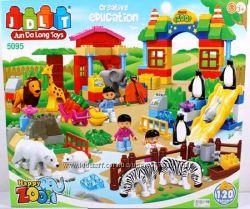 Конструктор для малышей Зоопарк JDLT 5095 и 5096