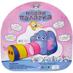 Детская палатка с тоннелем.  889-87 В слон