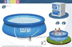 Бассейн Intex с насосом фильтром 28112, 28122, 28132, 28146, Интекс