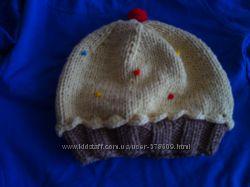 Вязаные шапки на заказ
