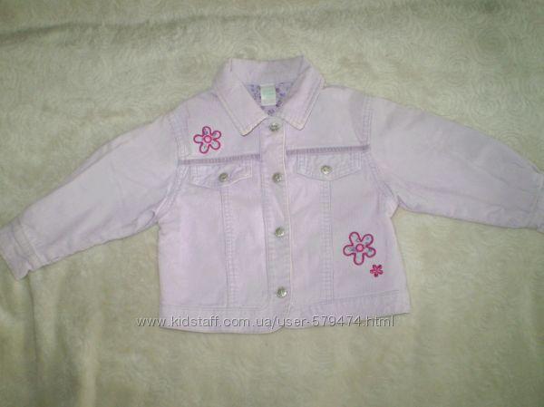 Вильветовый пиджачок для маленькой модницы