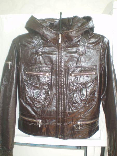 Новая стильная куртка из натуральной кожи