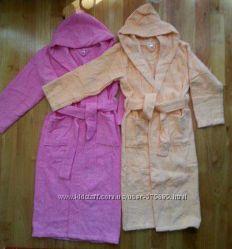 махровые халаты для деток натуральный хлопок. отличный и недорогой подарок
