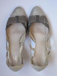 Замшевые туфли Francesco Donni