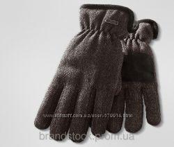 Мужские перчатки шерстяные брак от TCM Tchibo
